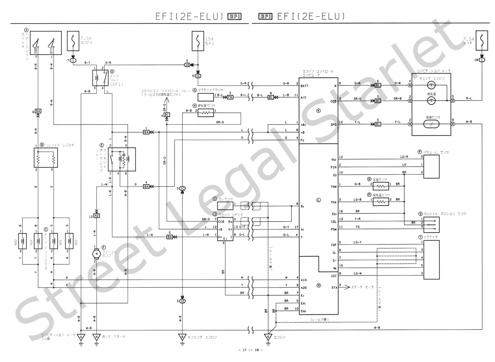 Toyota Hiace Towbar Wiring Diagram 34 Images 1991 Camry Sls Ep71 2e Elu Glanza Diagrams Instruction